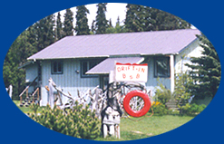 Drift-In Bed & Breakfast lodging accommodations in beautiful, historic Ninilchik, Alaska. Located on the Kenai Peninsula between Kenai and Homer, Alaska. World class halibut and salmon fishing nearby. Drift-In Bed and Breakfast, open year round. In the winter months we offer many miles of groomed trails for snowmobilers, snow machiners, and cross country skiers in the Caribou Hills.